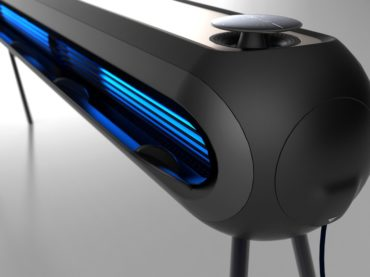 AN AIR PURIFIER THAT BLENDS IN LIKE A NINJA