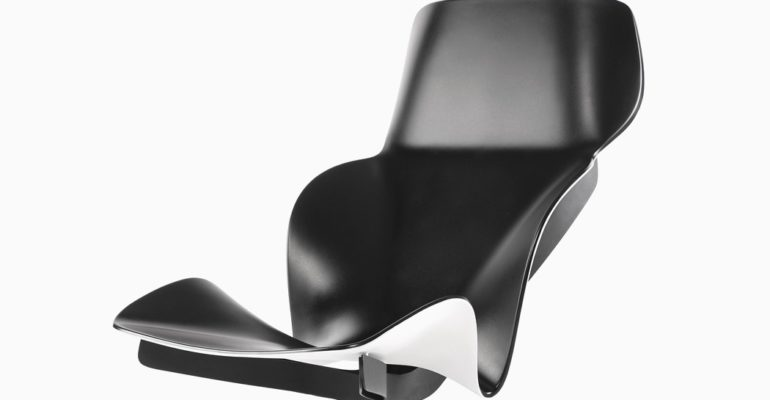 BIOMIMICRY IN A LOUNGE CHAIR SEAT