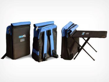 BACKPACK THAT CONVERTS TO A DESK FOR RURAL SCHOOL CHILDREN!