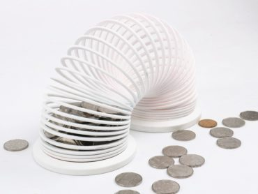 PIGGY BANK OR A SLINKY BANK