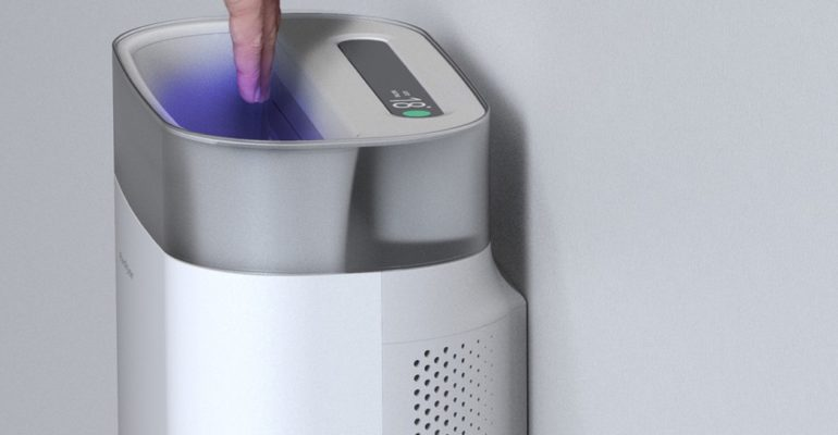 HANDS DRY, SANITIZE, PURIFY, AND WARM IN PUBLIC WASHROOMS