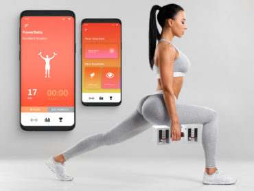 POWERBELL SMART DUMBELL SYSTEM THAT KEEPS TRACK OF YOUR WORKOUTS