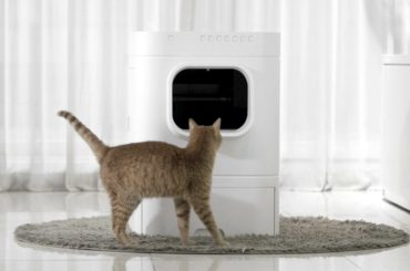 SELF CLEANING IOT LITTER BOX FOR YOUR CAT