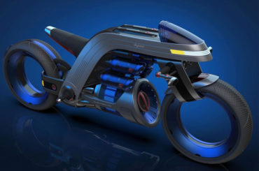 CONCEPT MOTORCYCLE INSPIRED BY DYSON
