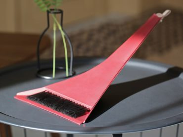THIS BROOM AND DUSTPAN DUO IS A PIECE OF ART