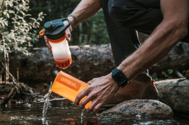 WATER PURIFIER BOTTLE GREAT FOR TRAVELS
