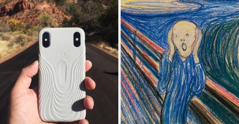 THE IPHONE SCREAM CASE