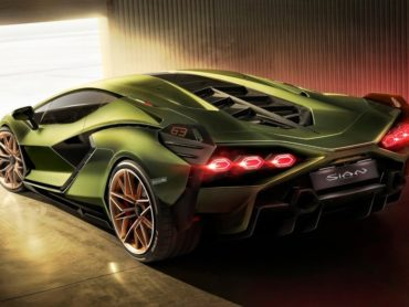 THE LAMBORGHINI SIAN IS OUT OF THIS WORLD