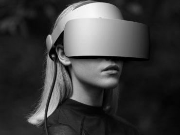 PANORAMIC VIRTUAL REALITY VR GOGGLES