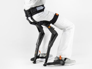 EXOSKELETON CHAIR THAT IS ALMOST INVISIBLE