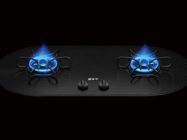 GAS STOVE WITH A BEAUTIFUL WAVE