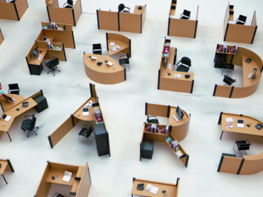 OFFICE FURNITURE? DESKS THAT MAKE UP THE ENTIRE ALPHABET