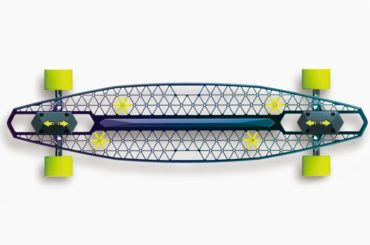 THIS AWESOME SKATEBOARD DESIGN LOOKS SICK