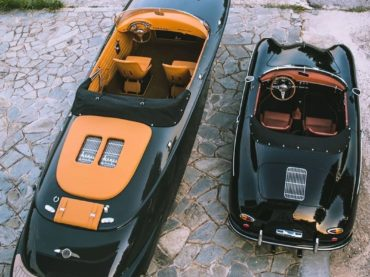 PORSCHE BOAT: 1950'S INSPIRED DESIGN BRINGS BACK MEMORIES