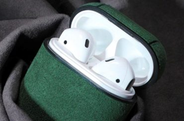 AIRPOD CASE: SOFT AS SUEDE AND WARM TO THE TOUCH   123 DESIGN BLOG