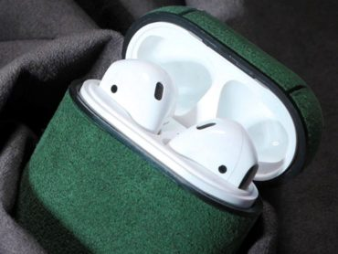 AIRPOD CASE: SOFT AS SUEDE AND WARM TO THE TOUCH | 123 DESIGN BLOG