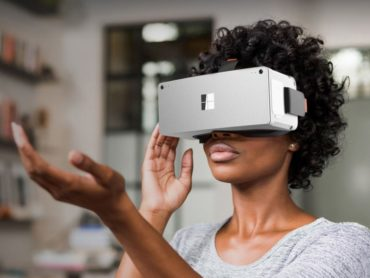 THE SURFACE VR IN VIRTUAL REALITY HEADSETS