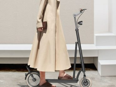 FROM PAST INTO FUTURE ELECTRIC SCOOTER