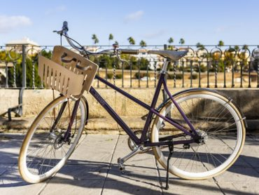 RECYCLED NESTLES NESPRESSO CAPSULES AND A NEW BICYCLE DESIGN