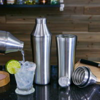 ELEVATE YOU DRINK WITH THIS ELEVATED CRAFT COCKTAIL SHAKER