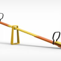 PLAYGROUND SEESAW THAT ADJUSTS TO PLAY WITH YOUR CHILD
