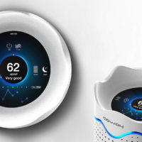WAVE INSPIRED AIR PURIFIER IOT LOOKS SUPER COOL