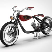 MINIMAL LINES CREATE A CRUISER E-BIKE WITH A V-TWIN POWER TRAIN