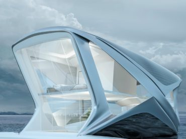 A BOAT HOUSE DESIGN YOU WOULD SEE IN DUBAI OR BALI