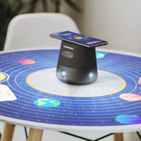 INTERACTIVE PROJECTOR DISPLAYS 360 DEGREE GAMES