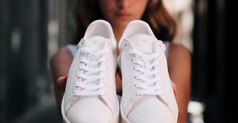 RECYCLE SHOE MAKES COMPOSTABLE SNEAKERS GREAT TO USE AGAIN